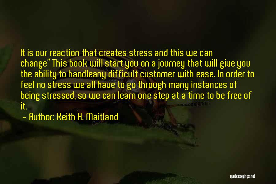 Handle Business Quotes By Keith H. Maitland