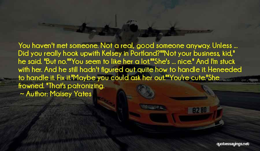 Handle Business Quotes By Maisey Yates