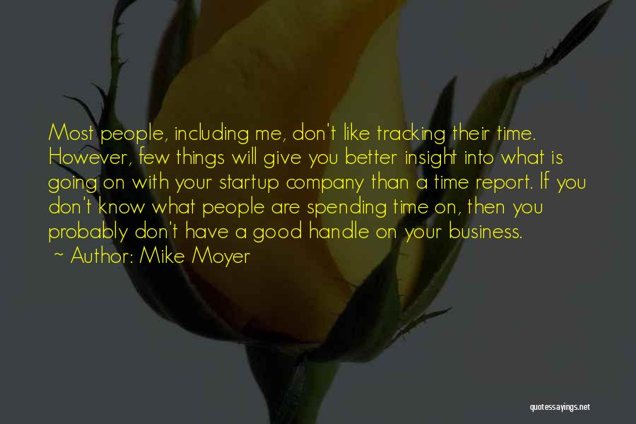 Handle Business Quotes By Mike Moyer