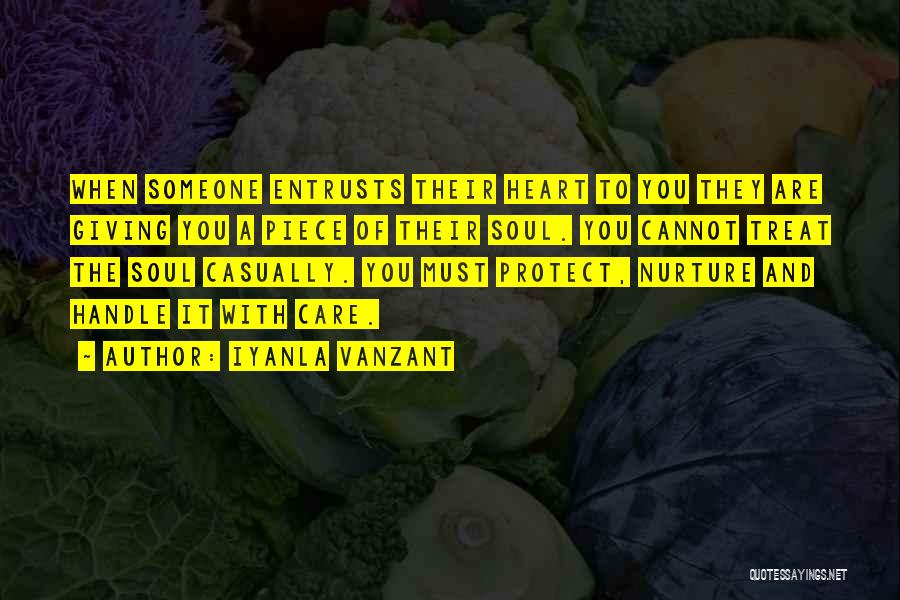 Handle With Care Quotes By Iyanla Vanzant