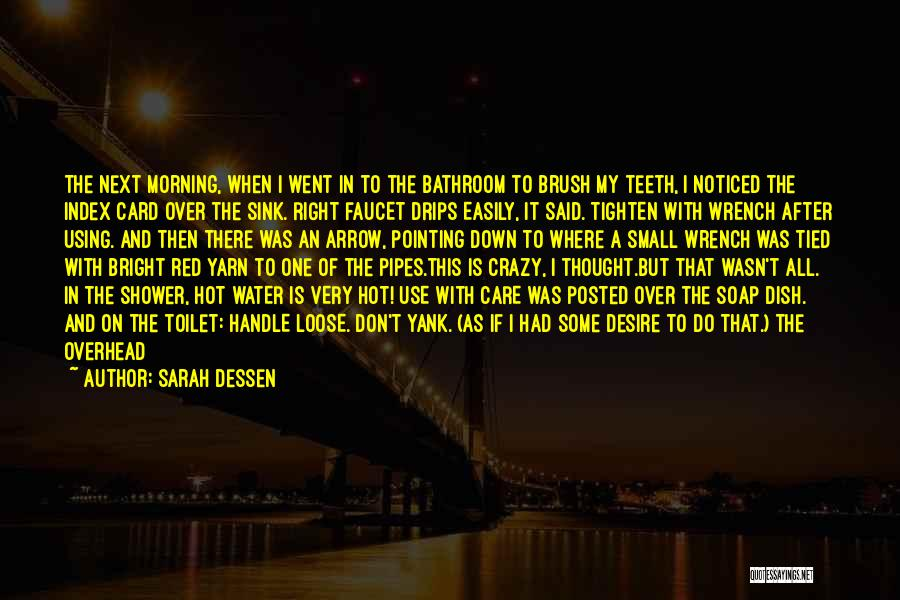 Handle With Care Quotes By Sarah Dessen