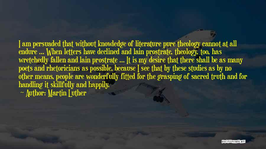 Handling The Truth Quotes By Martin Luther