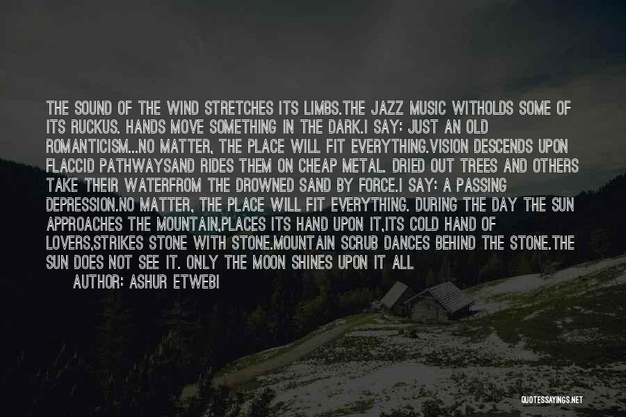 Hands And Music Quotes By Ashur Etwebi