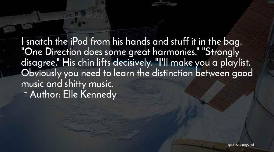 Hands And Music Quotes By Elle Kennedy