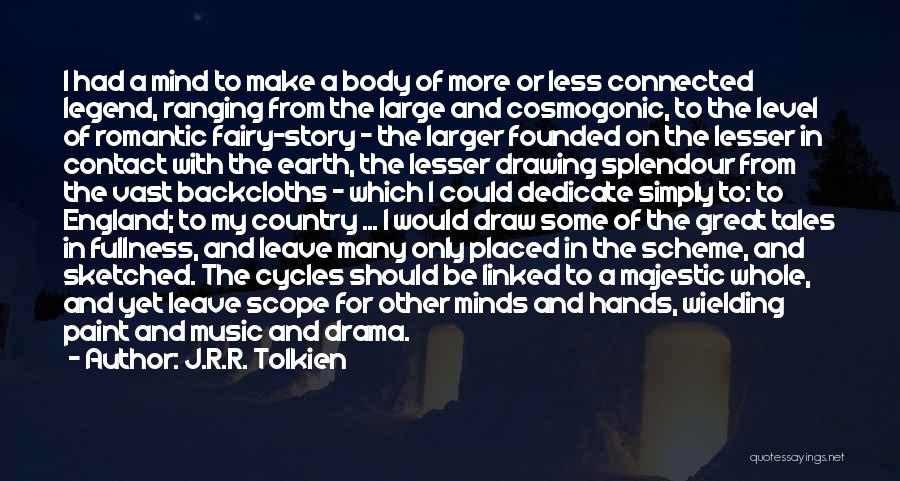 Hands And Music Quotes By J.R.R. Tolkien