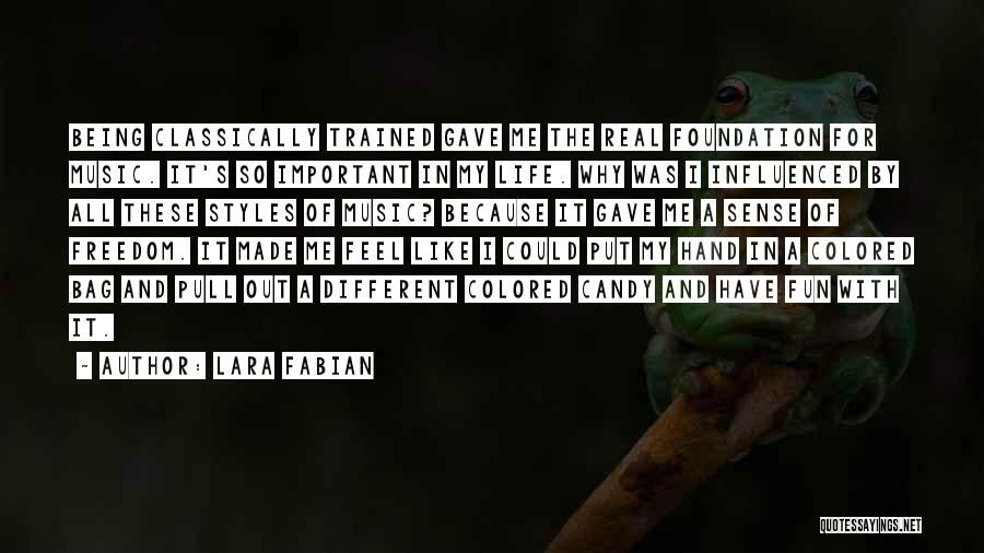 Hands And Music Quotes By Lara Fabian