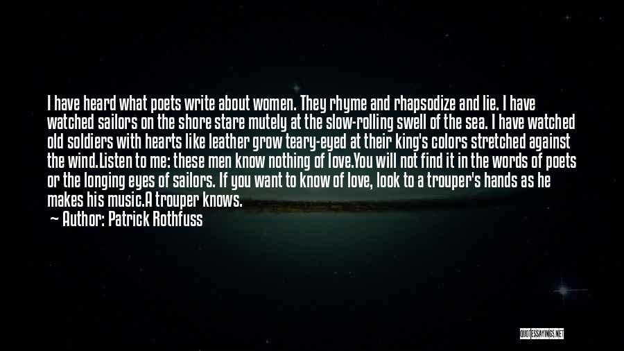 Hands And Music Quotes By Patrick Rothfuss