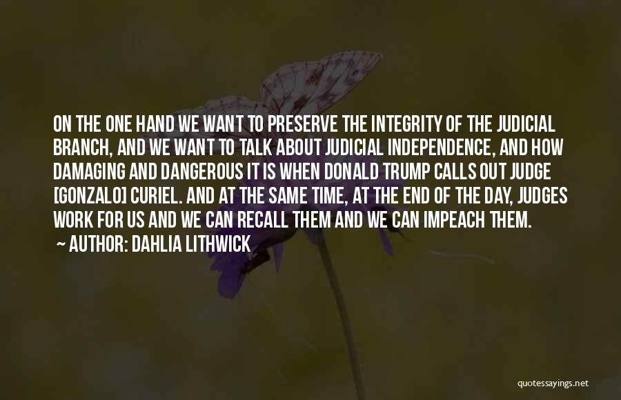 Hands And Work Quotes By Dahlia Lithwick