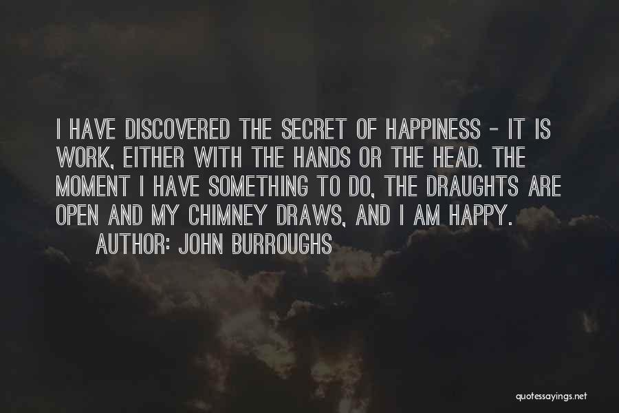Hands And Work Quotes By John Burroughs