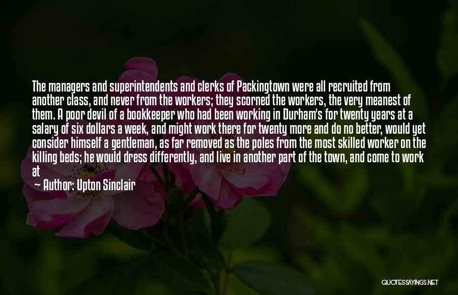 Hands And Work Quotes By Upton Sinclair