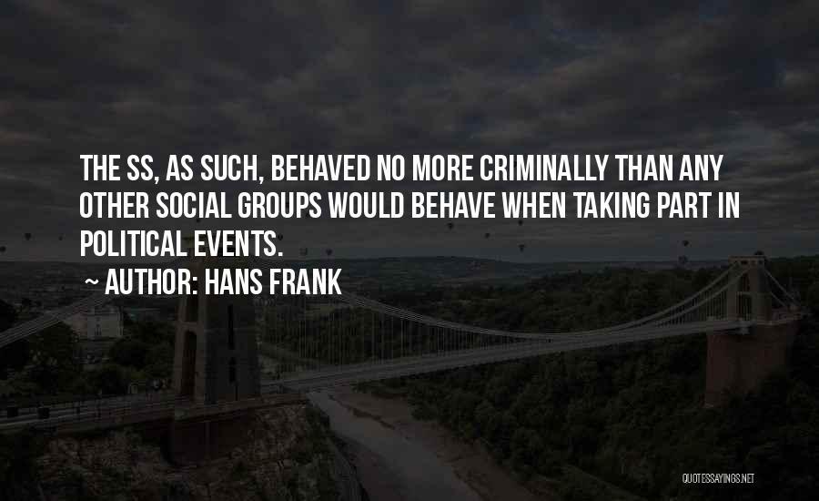 Hans Frank Quotes 1327202
