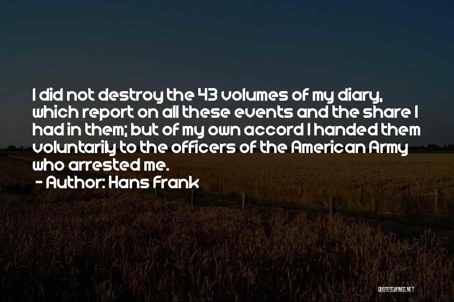 Hans Frank Quotes 1555806