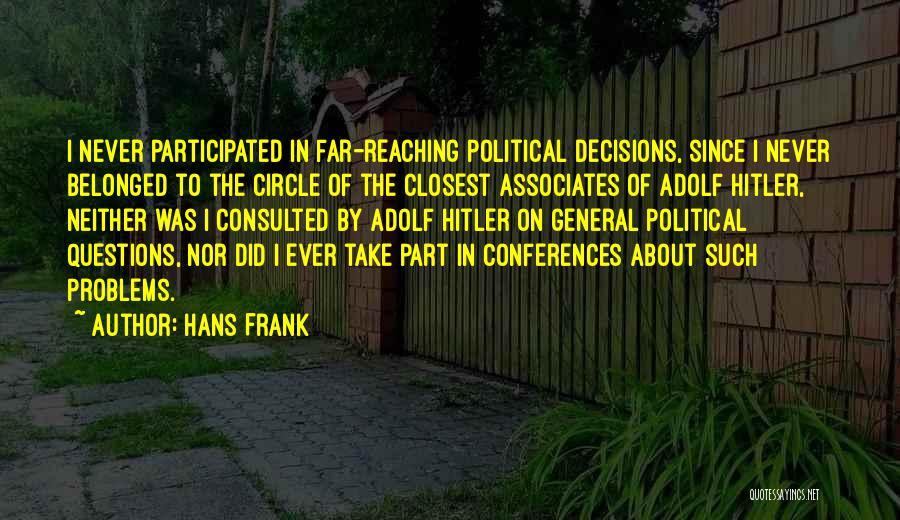 Hans Frank Quotes 1845751