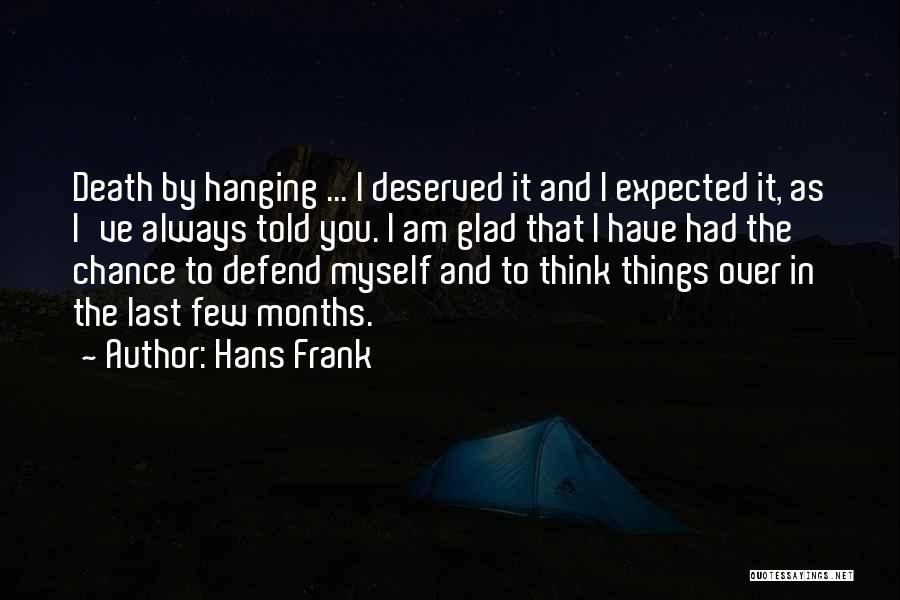 Hans Frank Quotes 2030402