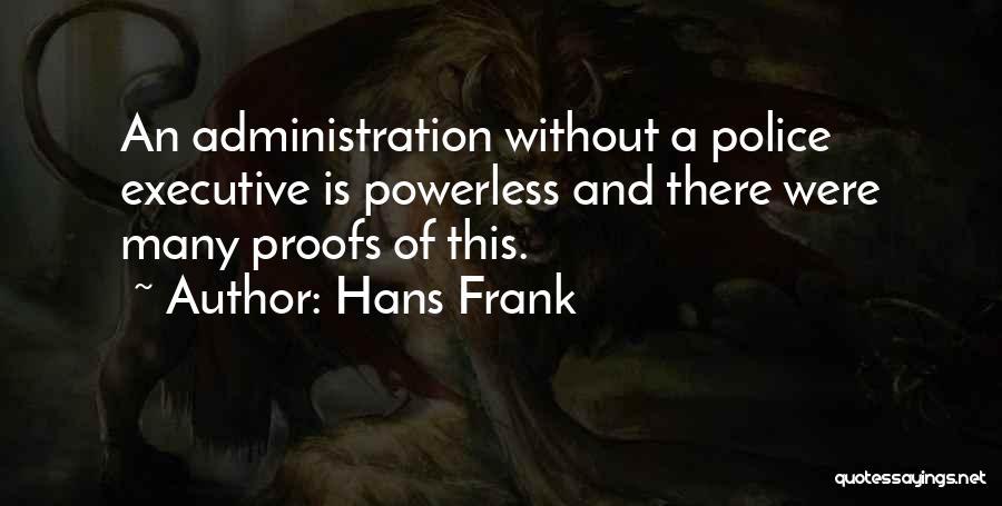 Hans Frank Quotes 2039290