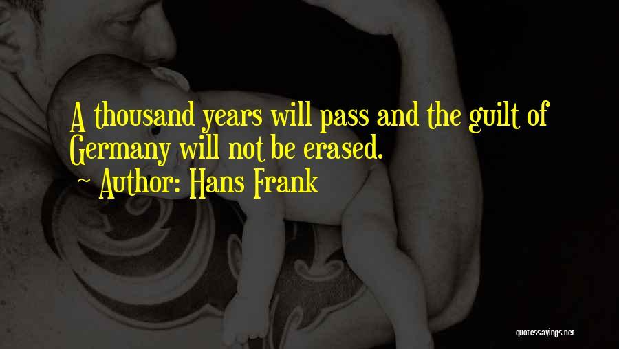 Hans Frank Quotes 351581