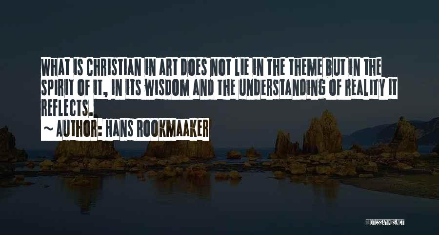 Hans Rookmaaker Quotes 109440