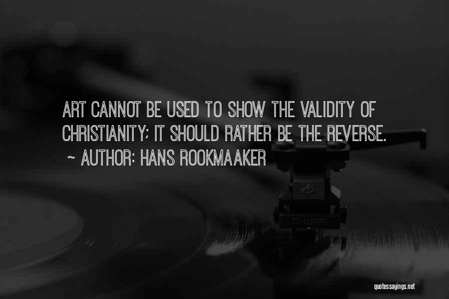 Hans Rookmaaker Quotes 1838154