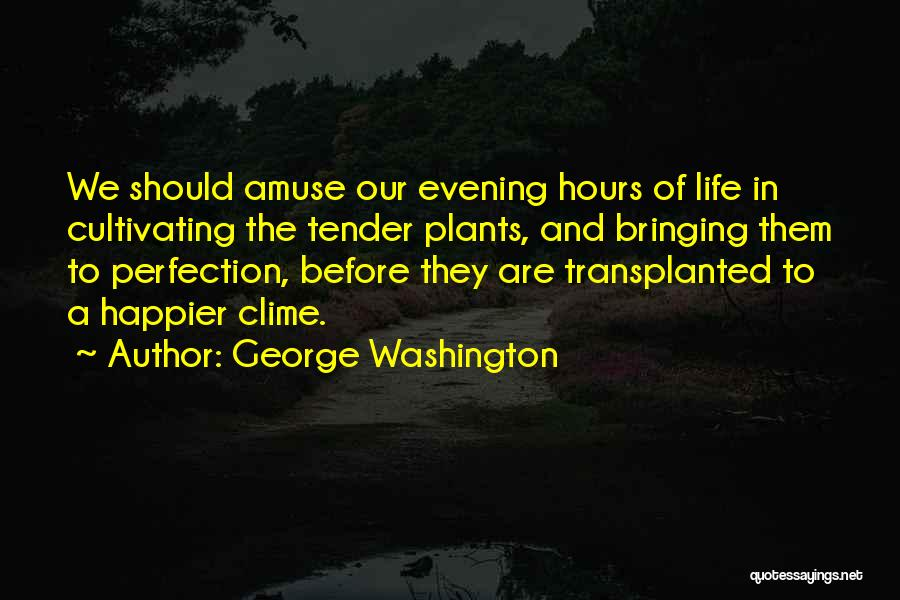 Happier Than Before Quotes By George Washington