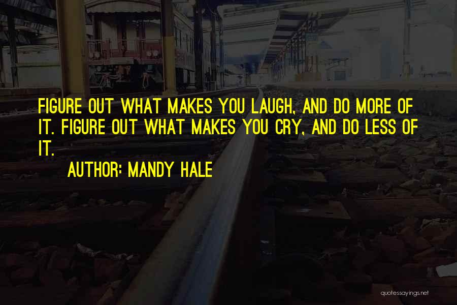 Happiness And Being Yourself Quotes By Mandy Hale