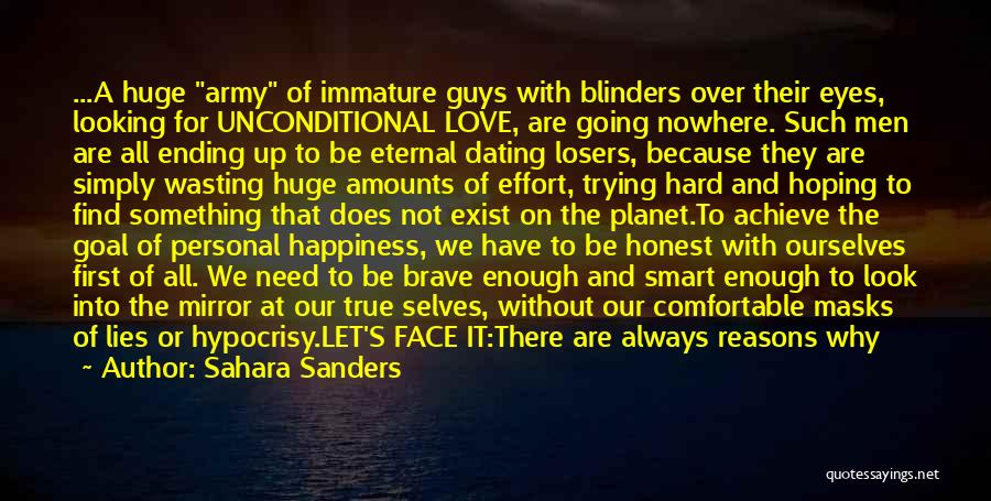 Happiness And Being Yourself Quotes By Sahara Sanders