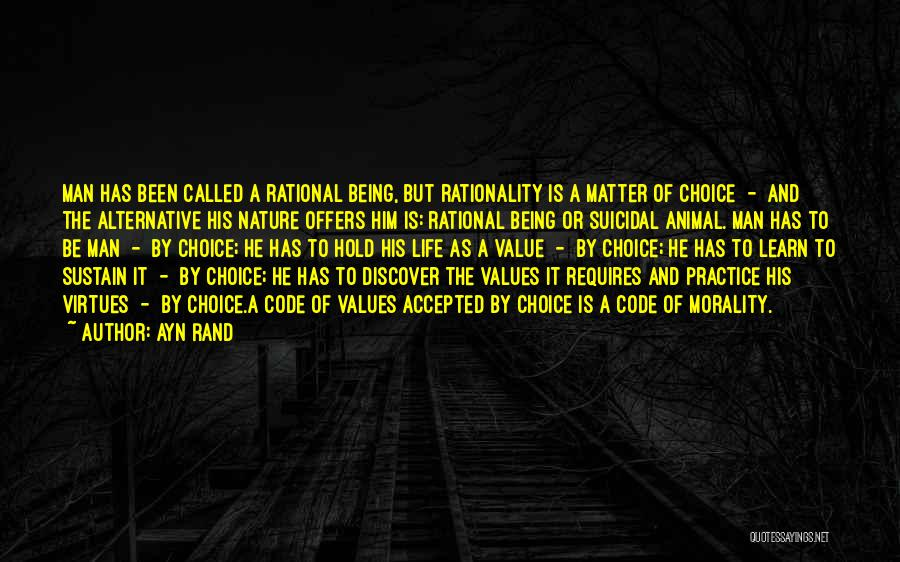 Happiness Being A Choice Quotes By Ayn Rand
