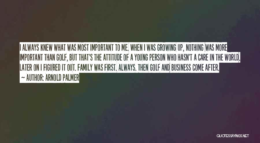 Happiness In The Family Quotes By Arnold Palmer