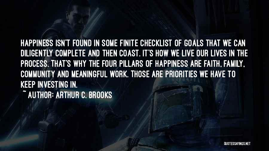 Happiness In The Family Quotes By Arthur C. Brooks