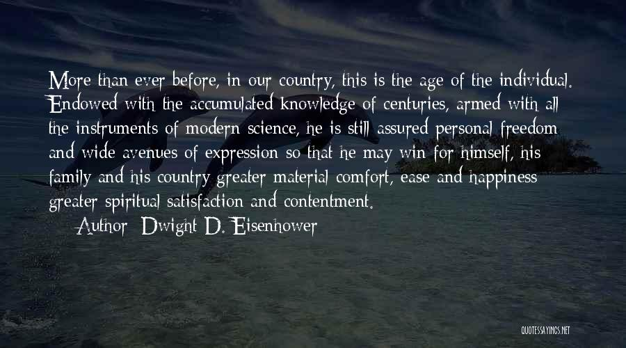 Happiness In The Family Quotes By Dwight D. Eisenhower
