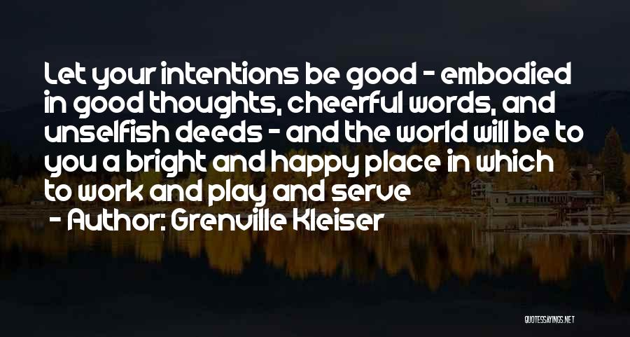 Happiness In The Family Quotes By Grenville Kleiser