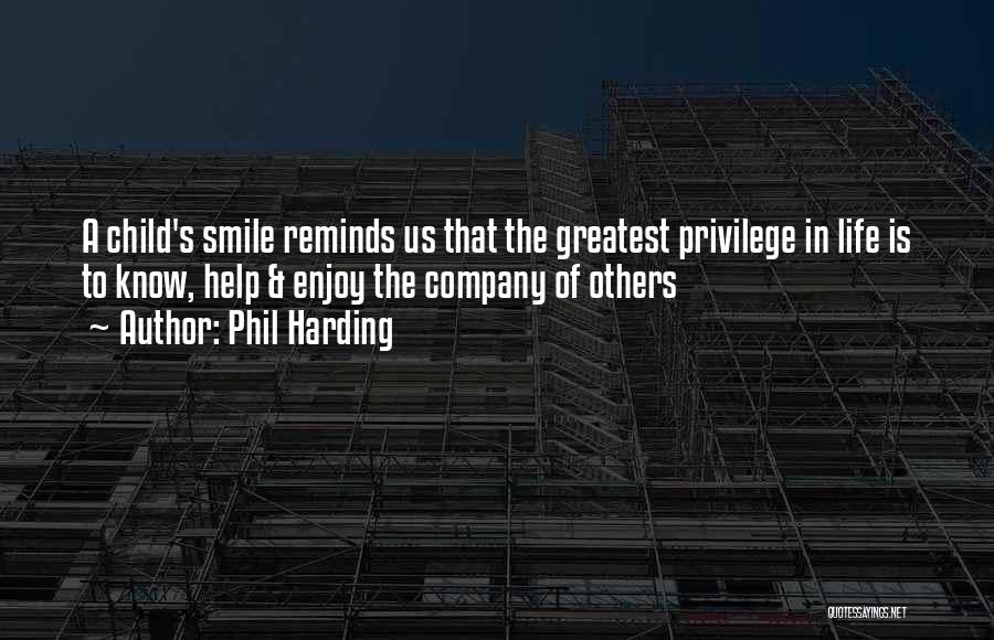 Happiness In The Family Quotes By Phil Harding