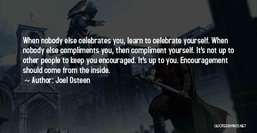 Happiness Inside You Quotes By Joel Osteen