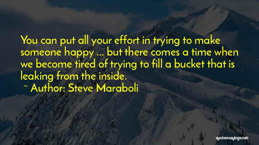 Happiness Inside You Quotes By Steve Maraboli