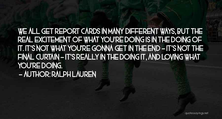 Happiness Is Loving You Quotes By Ralph Lauren