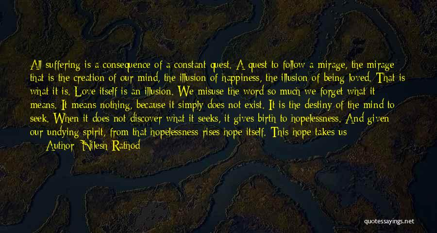 Happiness Is Not Constant Quotes By Nilesh Rathod