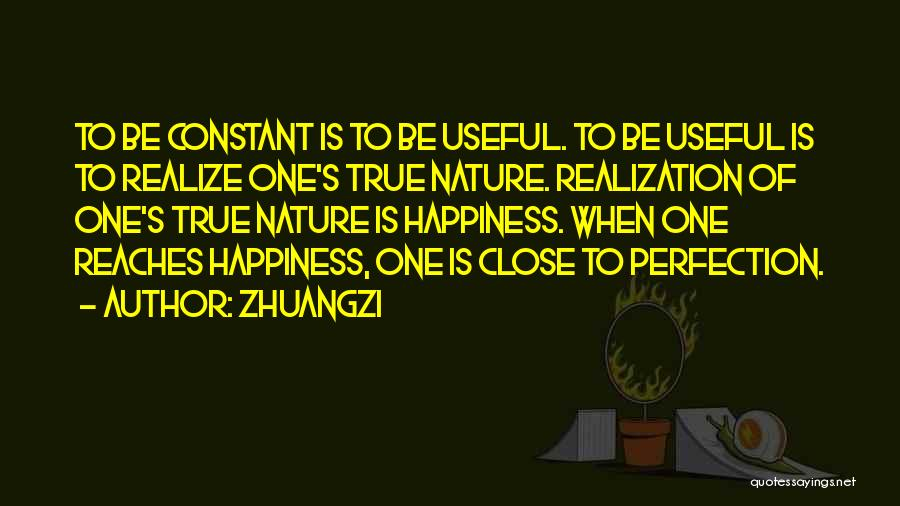 Happiness Is Not Constant Quotes By Zhuangzi