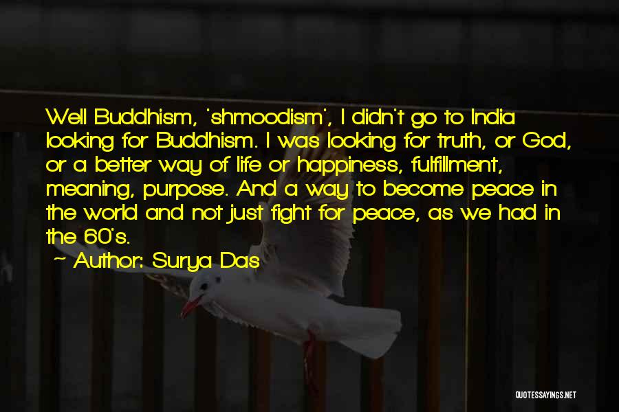 Happiness Of God Quotes By Surya Das