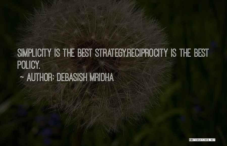 Happiness Reciprocity Quotes By Debasish Mridha