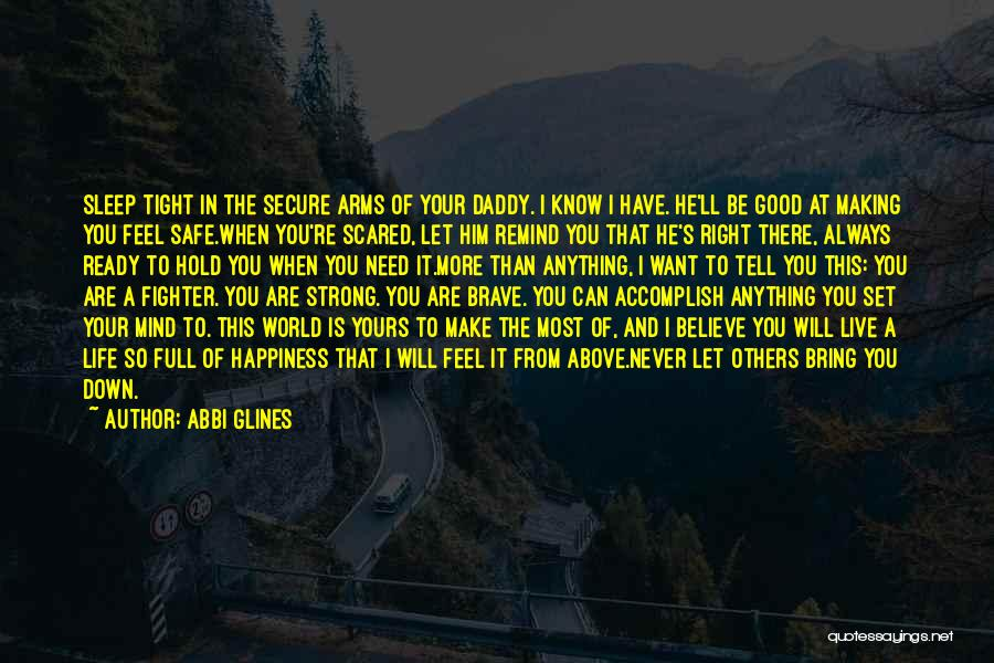 Happiness With Baby Quotes By Abbi Glines