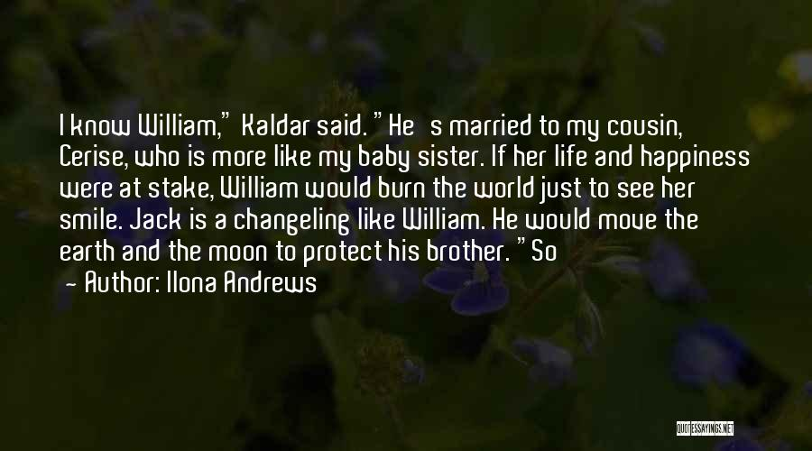 Happiness With Baby Quotes By Ilona Andrews