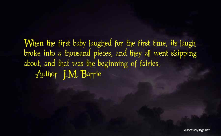 Happiness With Baby Quotes By J.M. Barrie