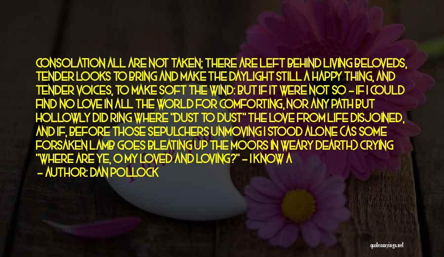 Happy All Alone Quotes By Dan Pollock
