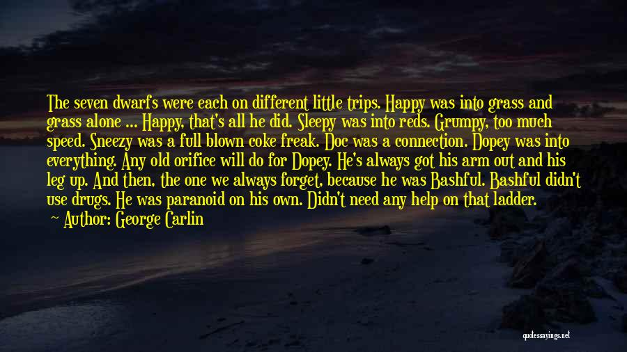 Happy All Alone Quotes By George Carlin