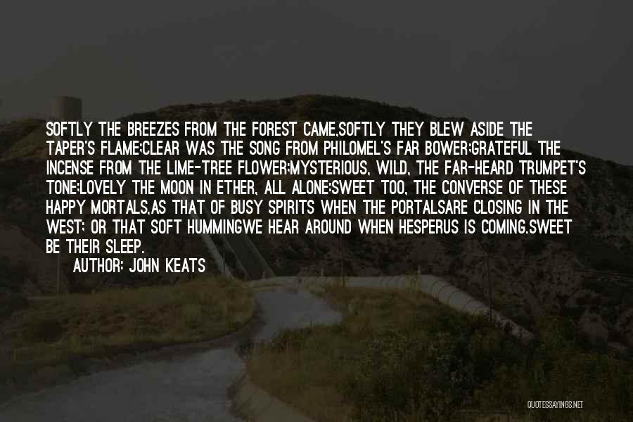 Happy All Alone Quotes By John Keats