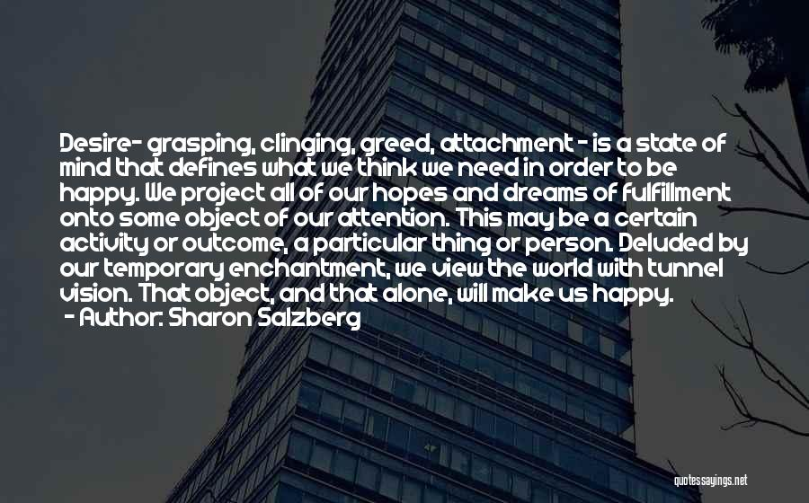 Happy All Alone Quotes By Sharon Salzberg