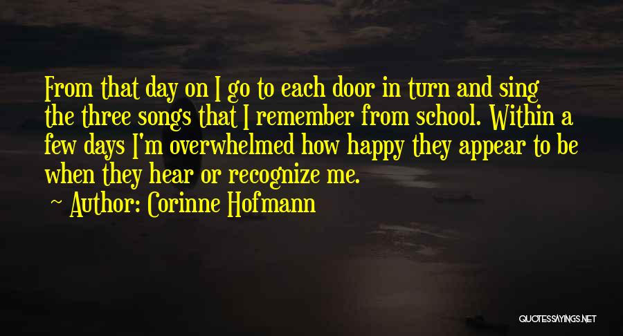 Happy And Love Quotes By Corinne Hofmann