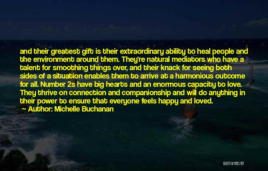 Happy And Love Quotes By Michelle Buchanan