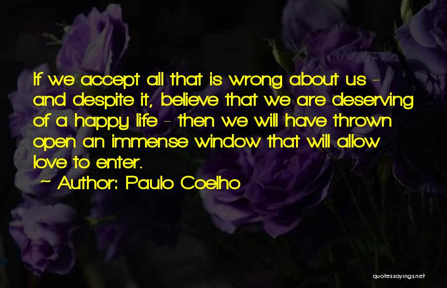 Happy And Love Quotes By Paulo Coelho