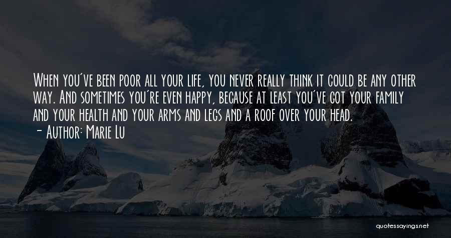 Happy Because Of U Quotes By Marie Lu