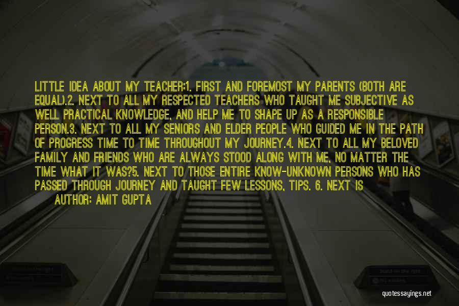 Happy Best Friends Quotes By Amit Gupta